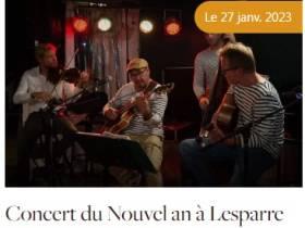 Musique: Concert du Nouvel An