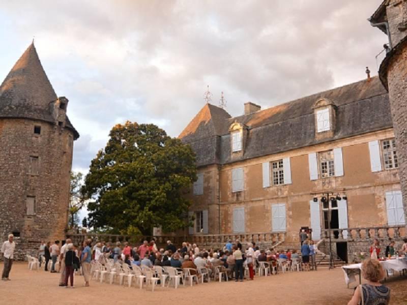 Visite du Château de la Cousse