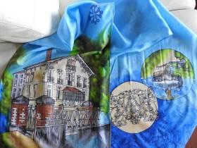 agenda Dordogne Exposition de peintures sur soie ML Garot