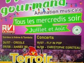 agenda Dordogne Marché Gourmand