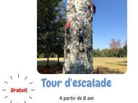 agenda Dordogne Tour d'escalade dans le cadre de l'Eté Actif