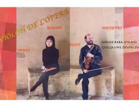 agenda Dordogne Concert Le violon de l'Opéra