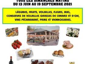 agenda Dordogne Marché des producteurs de Vergt