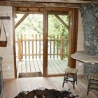 intérieur cabane aux 3 chênes