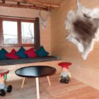 salon cabane aux terrasses