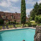 piscine de la maison d'hôtes Jean de Mai