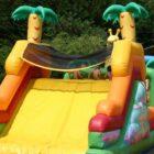 toboggan gonflable parc de loisirs le bos