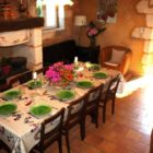 Salle à manger Les Gîtes du Breuilh : la Martinette