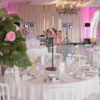 Salle de réception mariage aux jardins d'Eyrignac