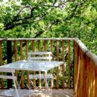 Terrasse cabane de jeanne