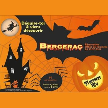 Bergerac - Découverte de la ville spéciale Halloween 2020