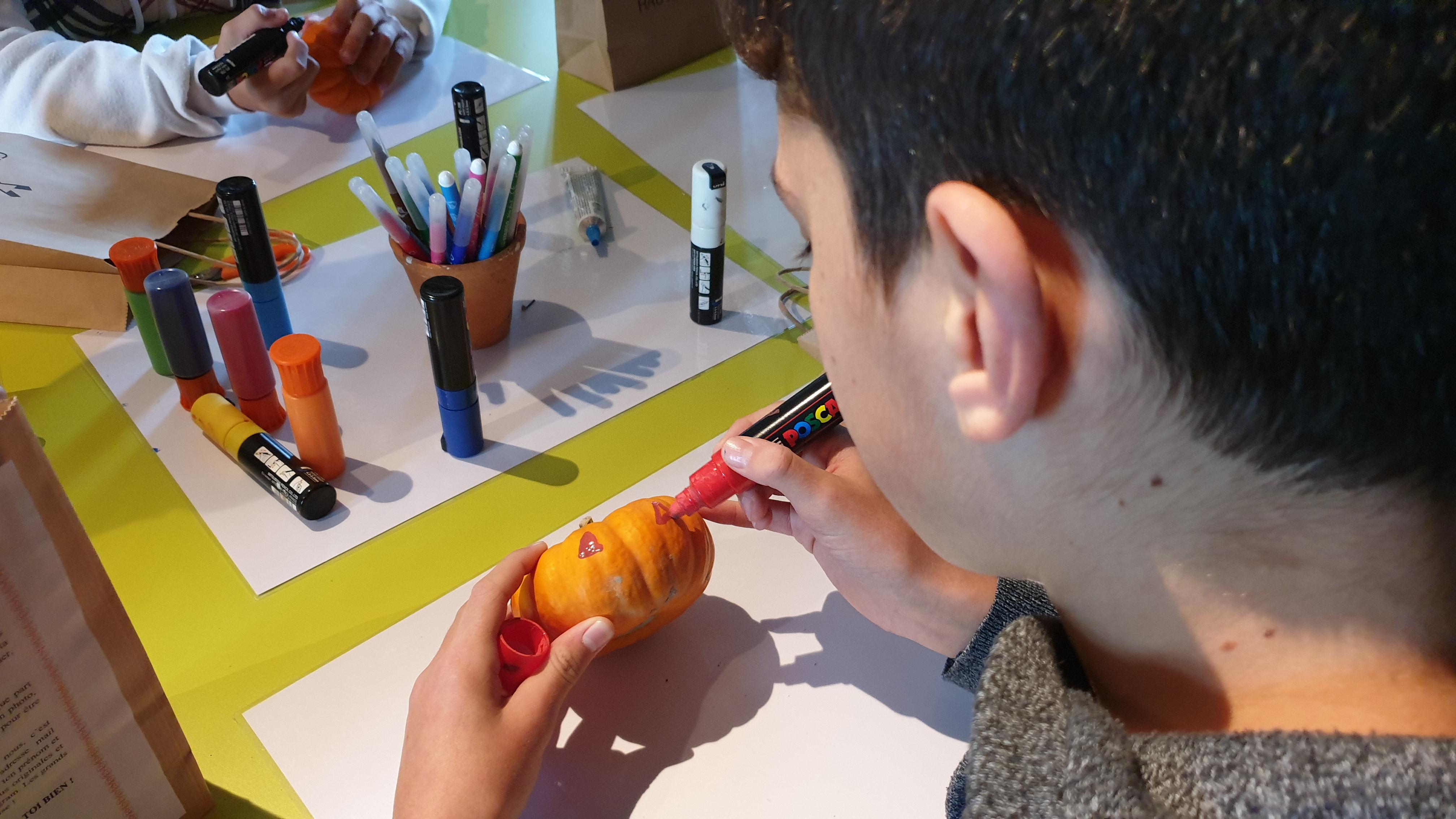 Concours photo Halloween et kit citrouille du 16 au 31 octobre 2021