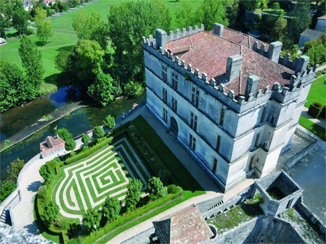 Castillo de Bourdeilles