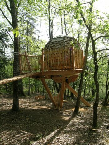 Lov Nid, cabane perchée près de Bergerac
