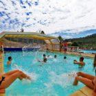 piscine chauffée camping des chênes verts