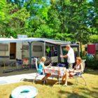 emplacements du Camping La Châtaigneraie en Périgord