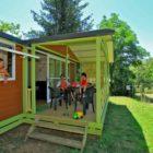 Mobil-home du Camping La Châtaigneraie en Périgord