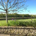 jardin gîte à la campagne