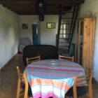 salle à manger du gîte à la campagne