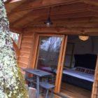 terrasse cabane perchée de La Ferme de Sirguet