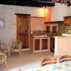 cuisine Gîte Les Lilas de La Garrigue basse
