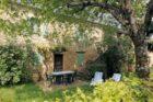 Terrasse Gîte Les Lilas de La Garrigue basse