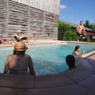 piscine Gîte les chênes de Lauzanac