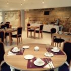 salle de petit déjeuner Château de Puyrobert