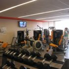 L'orange bleue: salle de musculation