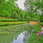 étang de pêche Camping le val de la Marquise