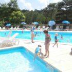 piscines du camping la Castillonderie