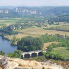 Domme vue sur la vallée de la Dordogne