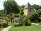 LA FERME FLEURIE : jardin