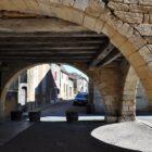Villefranche du Périgord : halles