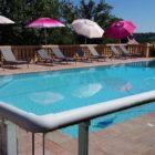 piscine domaine de Landrevie gîte la Tour