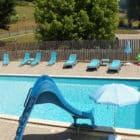 piscine Gîte Bridoire du Domaine de l'Étang de Sandanet