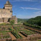 jardin médiéval Château de Castelnaud