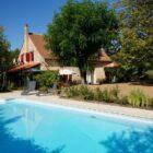 La grange de Pyraine : piscine