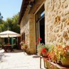 La grange de Pyraine : terrasse