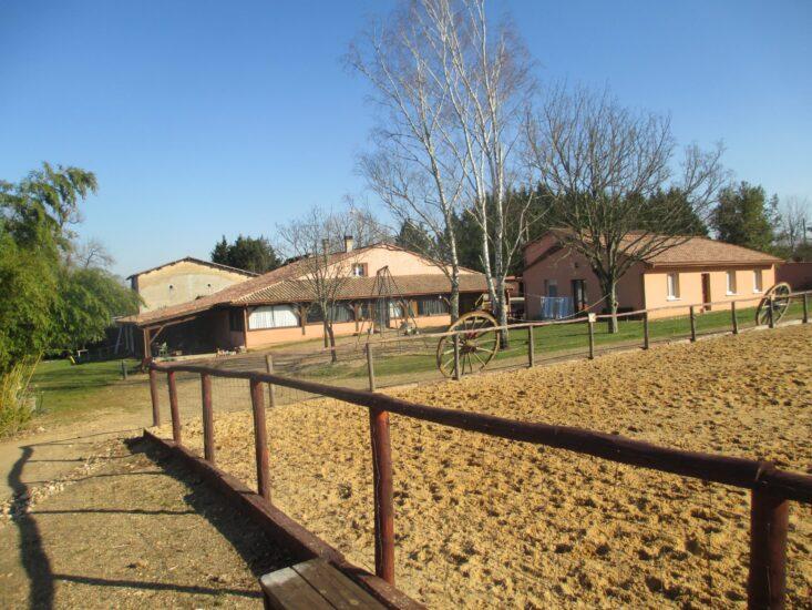 La maison des grands chênes