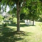La grange de Pyraine : jardin
