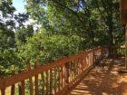 cabane de Gardelac : terrasse