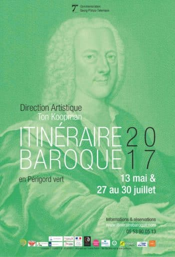 Festival Baroque Itinerary