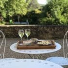 Chai Merlot : terrasse