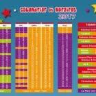 calendrier et tarifs du Jacquou Parc