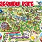Jacquou Parc : plan