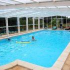 La Ferme de Laupilière : Maison d'hôtes piscine