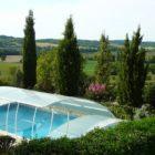 gîte avec piscine couverte en périgord vert