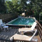 Gîte Les Plantous de Severo piscine