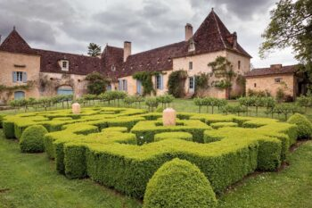 The gardens of the Chartreuse du Colombier